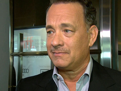 'Nice Guy' Hanks Moans About Narrow Red Carpet