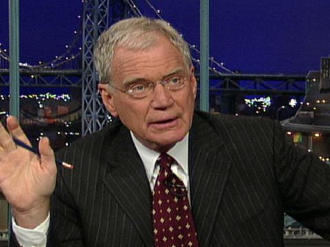 War on Women: Letterman Picked for Kennedy Center Honors