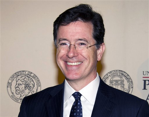 Colbert to NY Fordham Students: 'I Love My Church'