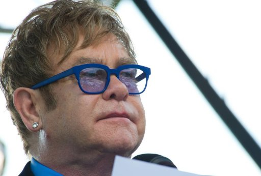 Elton John Cites U.S. Discrimination of HIV Inmates
