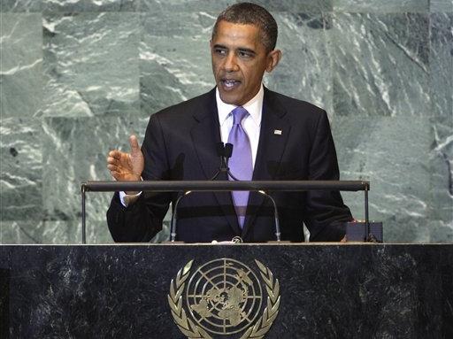 Obama at U.N. – Don't Blame Me, Blame Anti-Muslim Movie