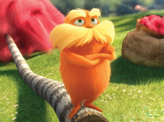 Film Version of Dr. Seuss' 'Lorax' Wins Environmental Media Award