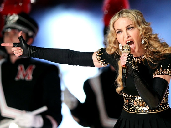 CHRISTIAN-BASHING MADONNA WON'T WEAR DRESS FOR FEAR OF MUSLIM BACKLASH
