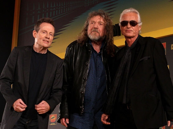 Led Zeppelin Gets Tense Over Reunion Questions