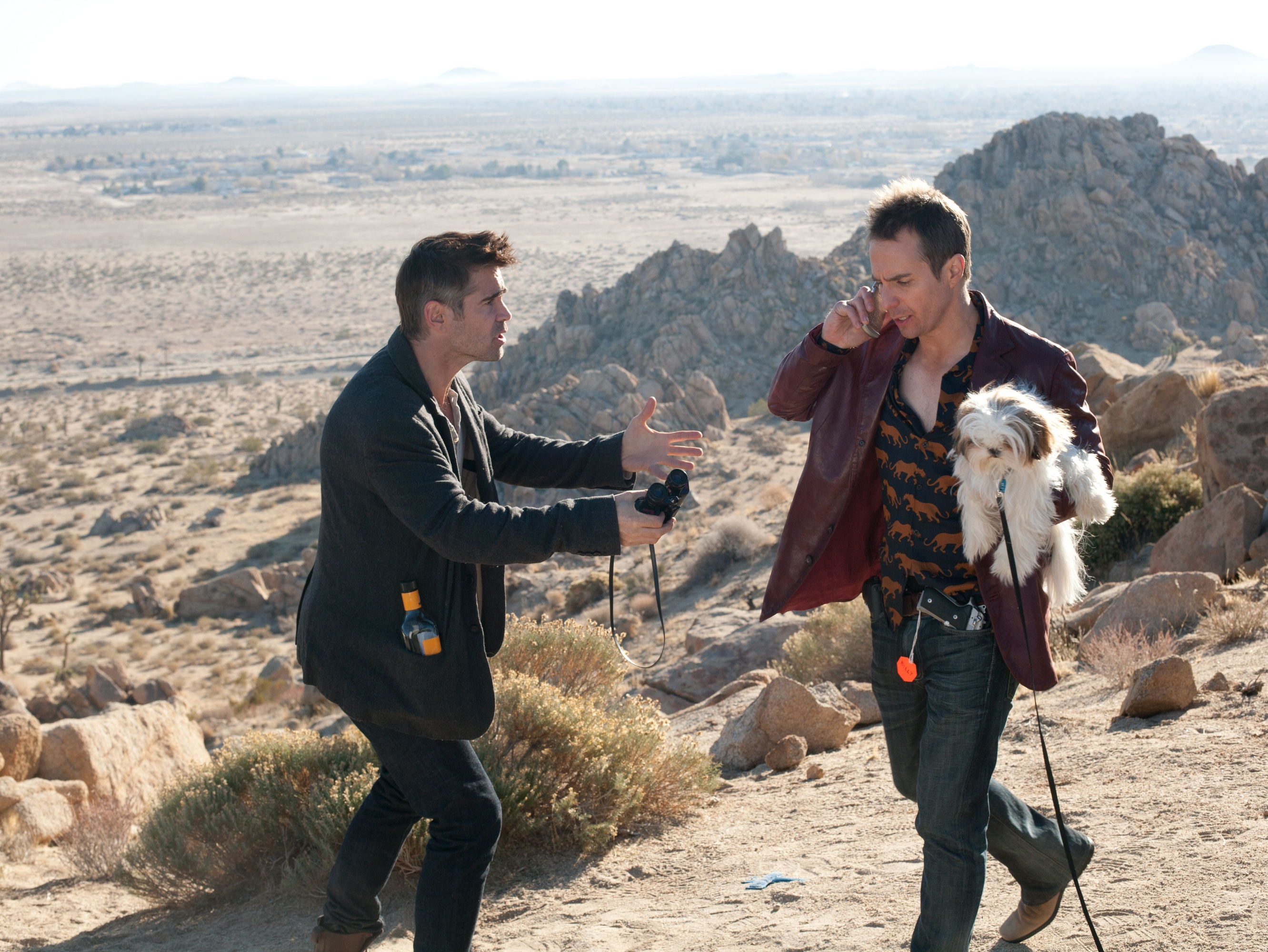 'Seven Psychopaths' Review: Twisted Dog Thieves Highlight Pitch Black Romp