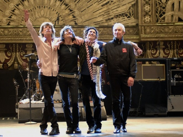 Rocking at 50: Rolling Stones Hitting the Road Again