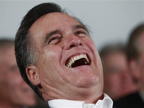 Romney Laps Obama in Comedy, Policies