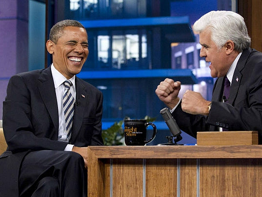 Late Night Guest in Chief: Now Obama's Going Back to Leno's 'Tonight Show'