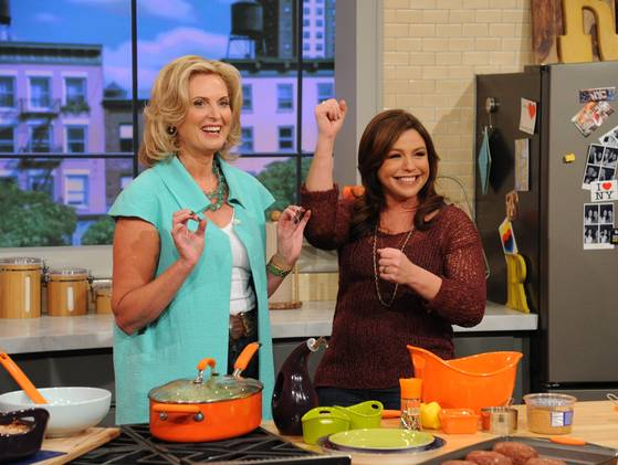 Ann Romney Cooks Husband's Signature Dish with Rachael Ray