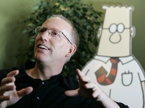 'Dilbert' Author Endorses Romney, Professional Left Freaks Out