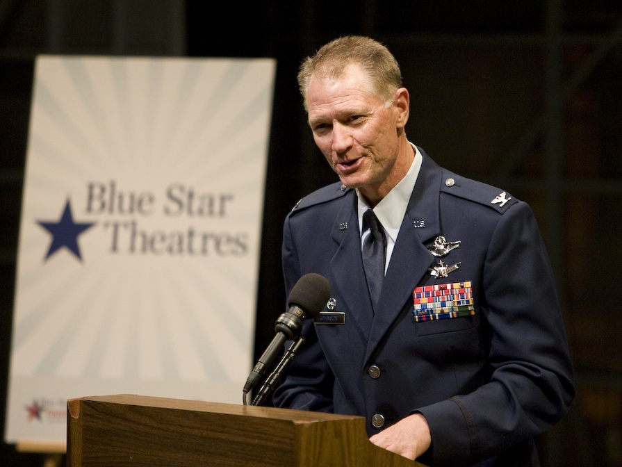 Blue Star Theaters Honor Military Families