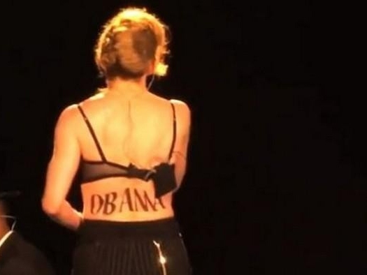 Madonna Drives Fans Away with Obama Worship