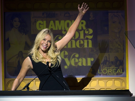 Chelsea Handler, Lena Dunham and More at Glamour Gala
