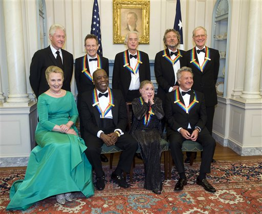 Letterman, Led Zeppelin to Receive Kennedy Center Honors