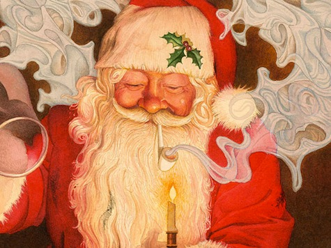 PC Police Rip Pipe Out Of Santa's Mouth in Updated 'Night Before Christmas'