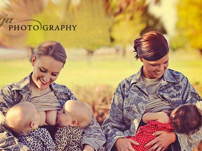 Breast Feeding: Disgrace to Military Uniform?