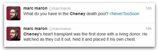 Marc Maron tweets