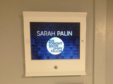 Sarah Palin to Appear on Jimmy Fallon's 'Tonight Show'