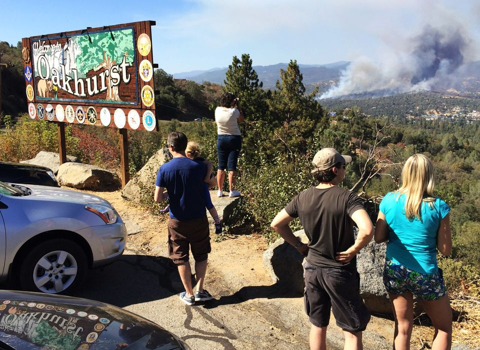 Yosemite Hikers Evacuated from Wildfire