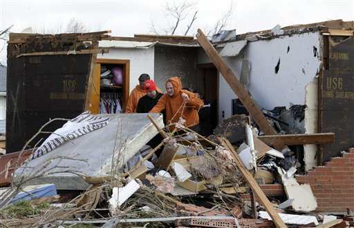 Tornado Death Toll at 38