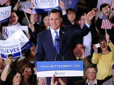 Romney Targets Obama in Super Tuesday Victory Speech