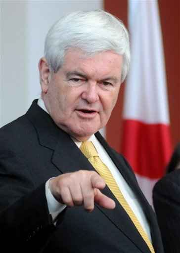 Gingrich Banks on Wins in Alabama and Mississippi