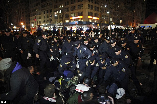 NYPD Arrest Dozens at Occupy St. Patrick's Day Protest
