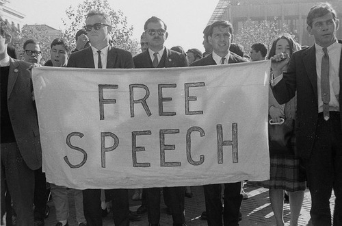 One-Sided 'Free' Speech at UC Berkeley