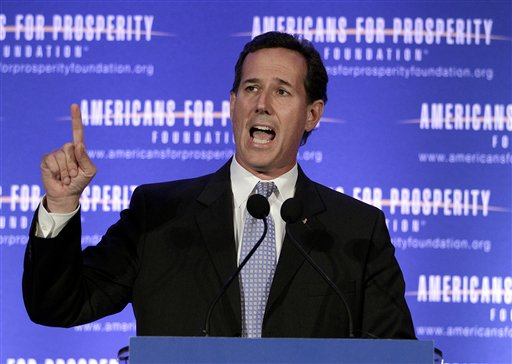 Santorum Set for Rebound in Louisiana
