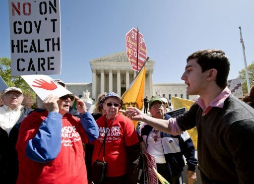 Court likely to scrap US health law: attys general