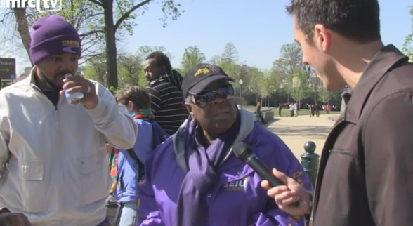 Paid SEIU Protesters Deny Unions Granted ObamaCare Waivers