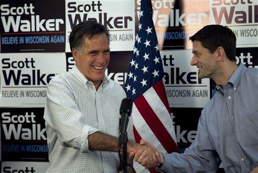 Wis. Sen. Ron Johnson Endorses Mitt Romney