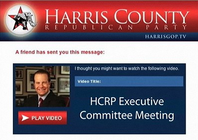 'Pay to Play' at the Harris County Texas Republican Party