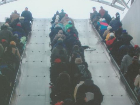 DC's Escalator Nightmare