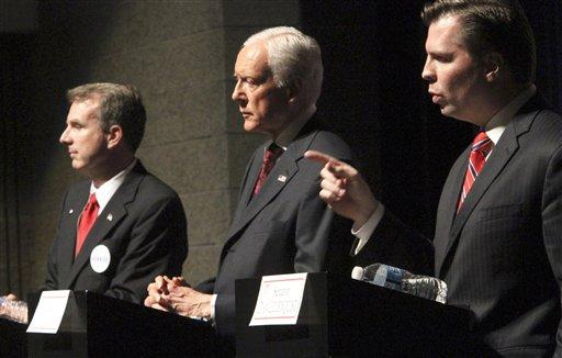 Utah GOP delegates deciding fate of Sen. Hatch