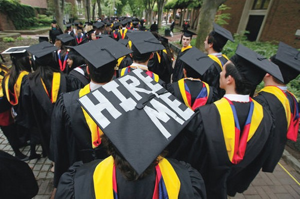 Half of New College Graduates Lack Full-Time Jobs