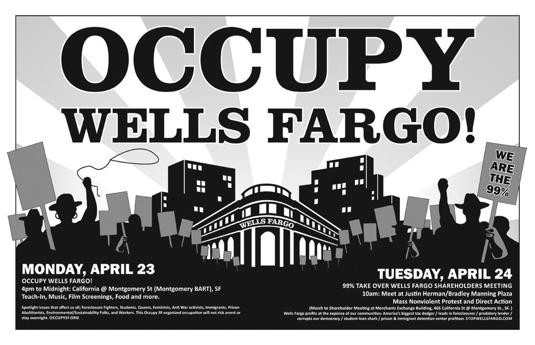 Occupy and SEIU To Attack Wells Fargo Shareholders Meeting