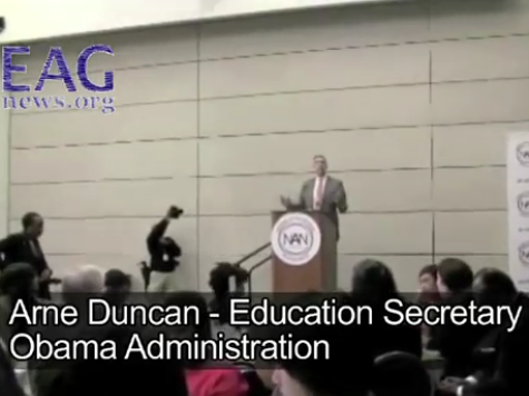 Exclusive – Indoctrination 101: Duncan Approves of Schools Teaching Protest