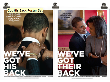 Obama's New Slogan: Get My Back!