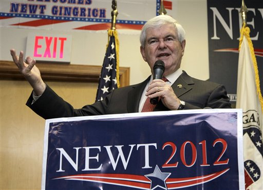Gingrich faces uncertain future after failed run