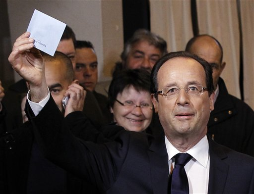 Obama calls new French President-elect Hollande, invites to White House