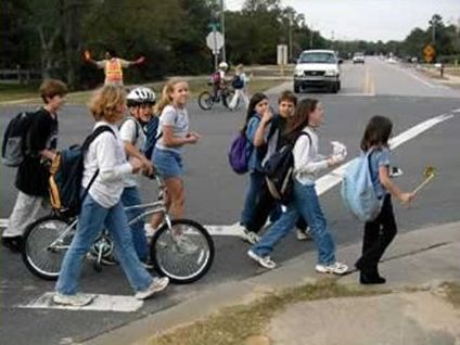 Feds Spend $1 Billion to Get Kids to Walk and Bike to School