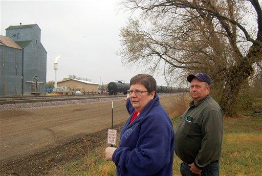 Oil boom resurrects North Dakota ghost town