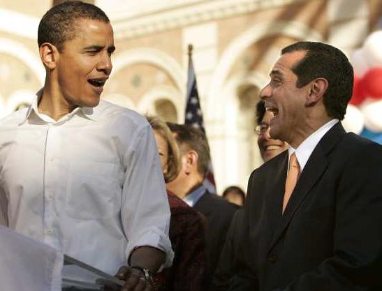LA Mayor Villaraigosa Funnels Taxpayer Cash To Obama Fundraiser
