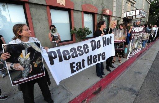 California Chefs Protest State's foie gras ban