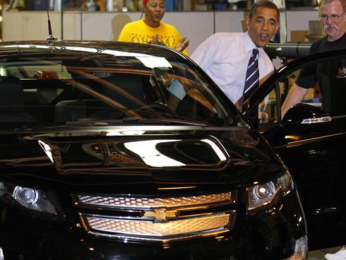 Obama Trumpets GM Bailout, No Mention of $10B Loss