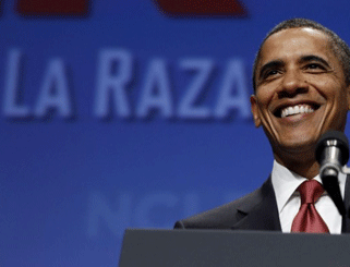 Obama's Latino Support Down, NBC News Says He 'Leads Big'