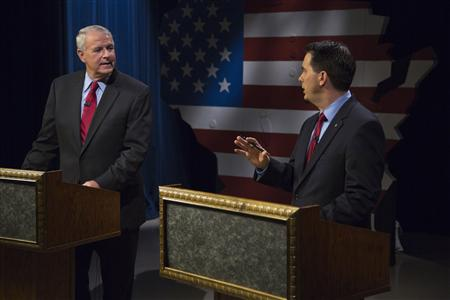 Wisconsin Governor Recall Election Debate Shows Sharp Divide
