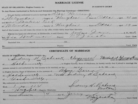 Exclusive: Eloped? Elizabeth Warren's Parents Married in Religious Ceremony