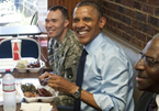 Obama Literally Dines and Dashes Day After Accusing Bush of Fiscal Dine and Dash